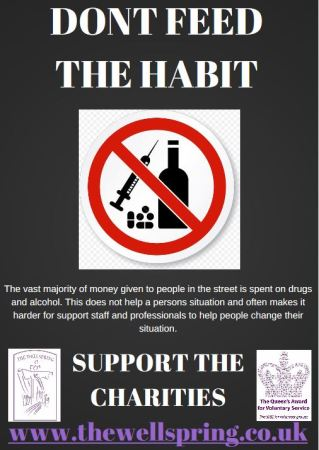 dont feed the habit